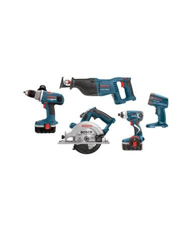 Bosch CPK50-18 18V 5-Piece Cordless Combo Kit BOSCPK50-18