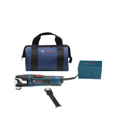 Bosch Starlock Oscillating Multi-Tool Kit - GOP55-36B: StarlockMax Oscillating Tool (5.5 Amp) with Bag & 2 Accessories