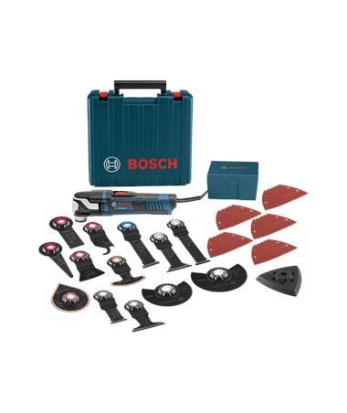 Bosch Starlock Oscillating Multi-Tool Kit - GOP55-36C2: StarlockMax Oscillating Tool (5.5 Amp) with Case & 40 Accessories