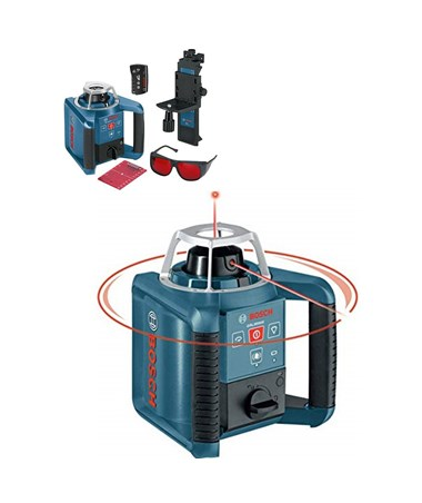 Bosch GRL300HV Rotary Laser Level with Layout BeaM