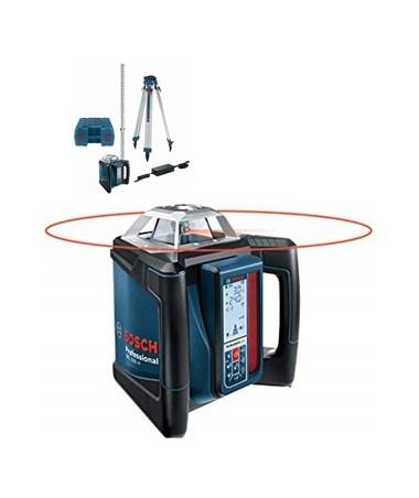 Bosch Self-Leveling Horizontal Slope Rotary Laser Complete Kit BOSGRL500HCK