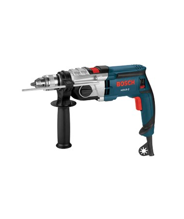 "Bosch 1/2"" HD19-2 120V 2-Speed Corded Hammer Drill with Case BOSHD19-2"