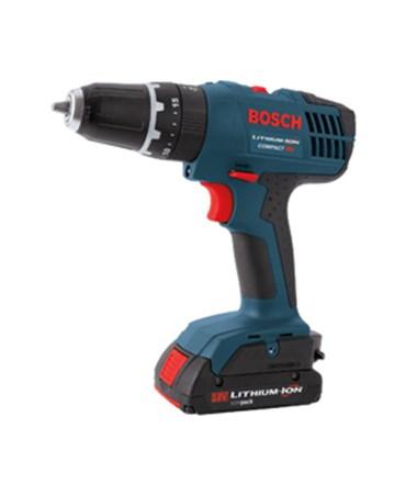 """Bosch HDB180B 18V Compact 3/8"""" Cordless Hammer Drill/Driver (Tool Only) BOSHDB180B"""