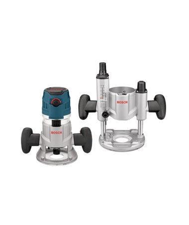 Bosch 2.3 HP Combination Plunge & Fixed-Base Router Pack BOSMRC23EVSK