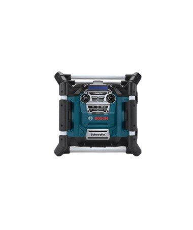 Bosch PB360S Power Box 360 Jobsite AM/FM Stereo with 360 Degree Sound and Digital Media Bay BOSPB360S