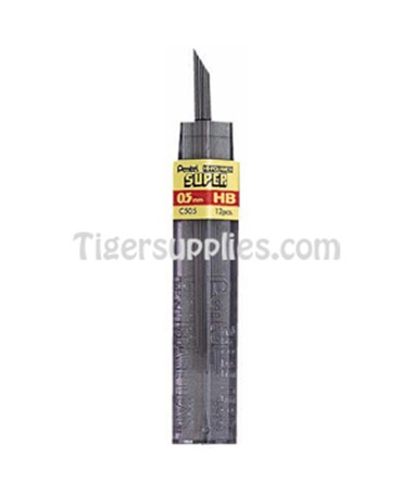 REFILL LEADS 0.5 MM 12/TU C505-6H