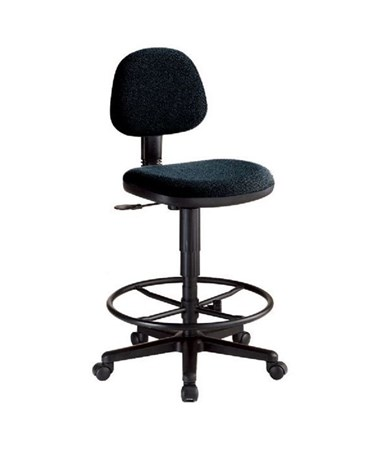Alvin Comfort Economy Drafting Task Chair Black CH277 40DH