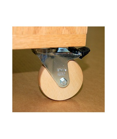 SMI Wood Wheel Kit for Oak Flat Files CKO