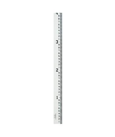 Crain 4-Inch Wide Stream Gauge (100ths, 10ths, Feet), 8-12 Feet 99003