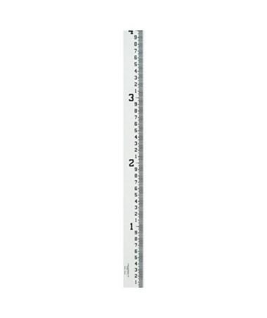 Crain 4-Inch Wide Stream Gauge (100ths, 10ths, Feet), 12-16 Feet 99004
