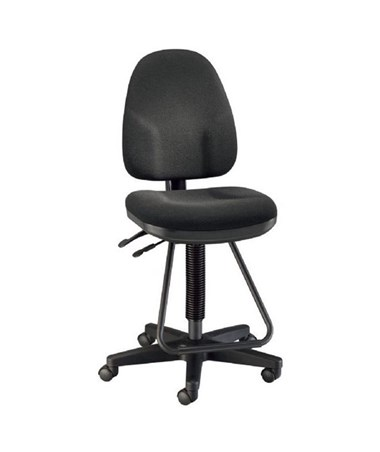 Monarch Executive Drafting Chair Black DC555-40
