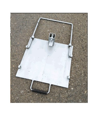 Eastern Metal Flasher Sign Stand Steel Base EAS072-QUICKBASE48