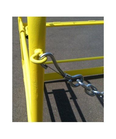 Eastern Metal Aluminum All-Yellow Manhole Guard EAS14506-MG-3842AL