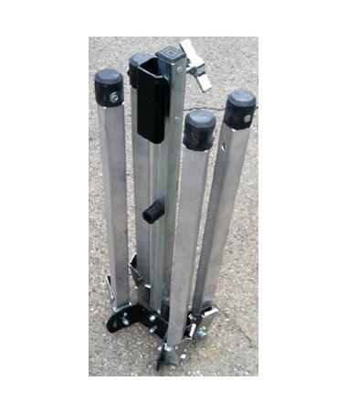 Eastern Metal C-600 Rigid Aluminum Compact C-Stand, Long Leg EASC-601-L-KLSH