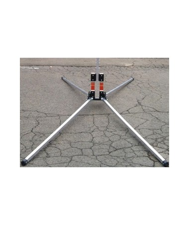 Eastern Metal X-840 Wind-Deflectable Over-Size 7-Inch X-Stand EASX-841-DD