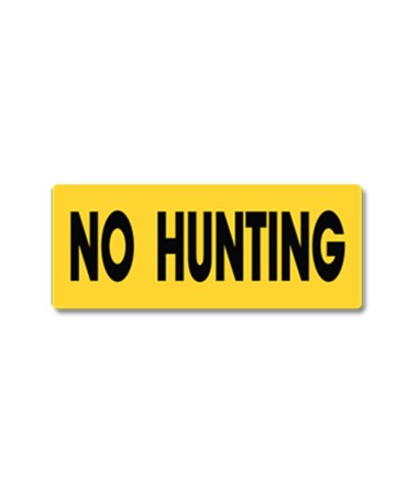 EverMark No Hunting, Fishing or Trespassing Property Sign EVEYHM001-01-