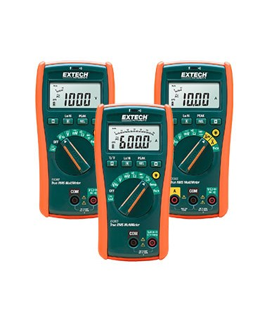 Extech CAT IV True RMS MultiMeters + NCV EX360-