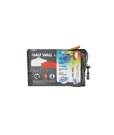 E-Z UP 10' x 10' Half Wall For Straight Leg EZUHW3PN10ALGY-
