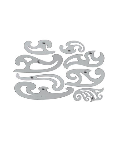 FRENCH SET OF 8 CURVE FC88