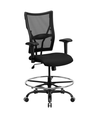 Flash Furniture Mesh Drafting Chair with Arms WL-5029SYG-AD-GG