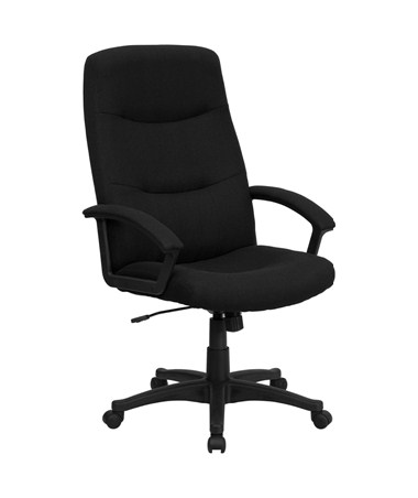 Flash Furniture High Back Swivel Office Chair BT-134A-BK-GG