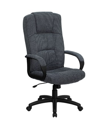 Flash Furniture High Back Executive Office Chair BT-9022-BK-GG