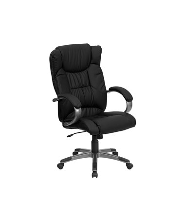 High Back Black Leather Executive Office Chair [BT-9088-BK-GG] FLFBT-9088-BK-GG