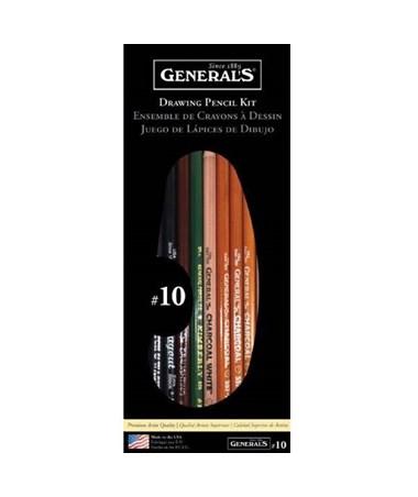 GENERALS BASIC DRAWING KIT G10
