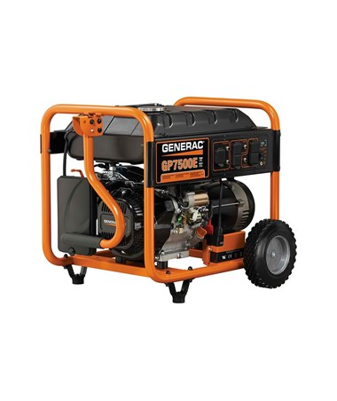 Generac GP7500E Portable Generator Electric Start