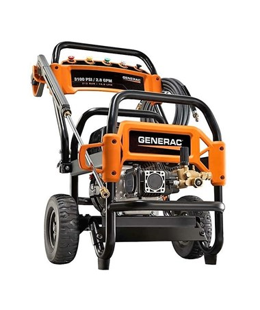 Generac 3100PSI Commercial Power Washer Without Certification