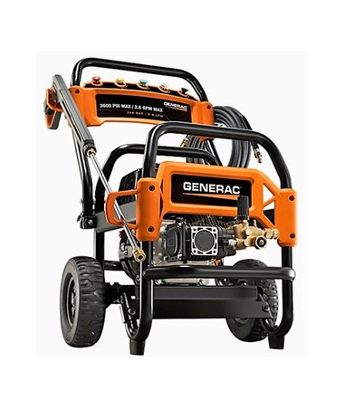 Generac 3600PSI Commercial Power Washer With 49-State/CSA Certification