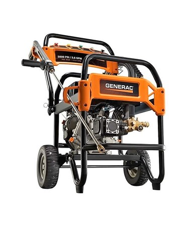 Generac 3800PSI Commercial Power Washer With 49-State/CSA Certification