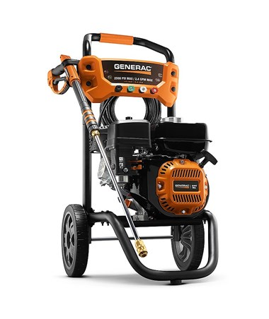 Generac 2500PSI Residential Power Washer Without Certification