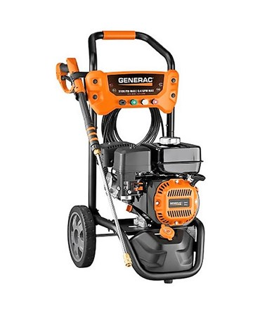 Generac 3100PSI Residential Power Washer With CARB Certification