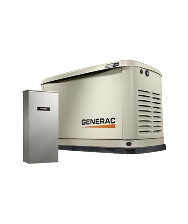 Generac 16/16kW Air-Cooled Standby Generator with Transfer Switch