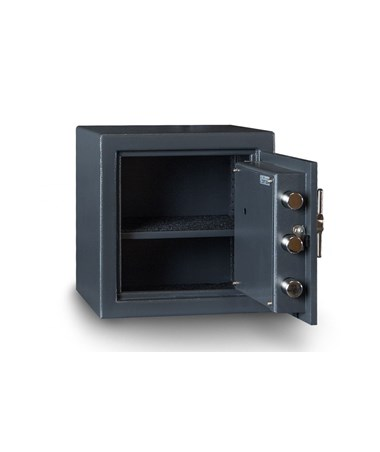 """Hollon B-Rated 14"""" Cash Safe with Drop Slot - Interior"""