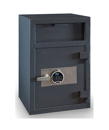 Hollon 30 x 20 B-Rated Depository Safe with One Shelf HOLFD-3020E-PRL - SecuRam Prologic L22 Electronic