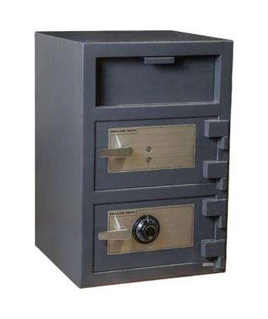 FDD-3020EK Hollon Key Lock Double Door 3.6 Cu Ft B-Rated Depository Safe
