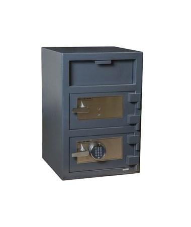 FDD-3020EK Hollon Key Lock Double Door 3.6 Cu Ft B-Rated Depository Safe