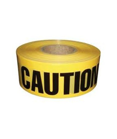 "YELLOW CAUTION TAPE 3"" X 1000' HYGPT-100"
