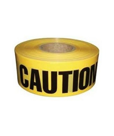 Hygrade Safety Yellow Barricade Tape (CAUTION) HYGPT-100