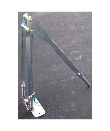 JackJaw 400 U Post and Ground Rod Puller, Included Folding Handle with Extension JACJJ0400