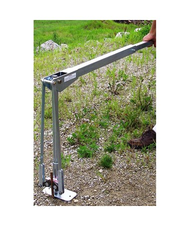 JackJaw 500 U Post and Ground Rod Puller, Included Handle Extension JACJJ0500