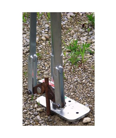JackJaw 308 Ground Rod and Small Tent Stake Puller JACJJ0308