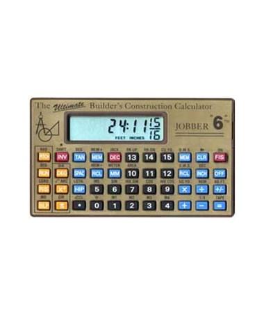 Jobber Instruments Jobber 6 Construction Calculator Jobber6
