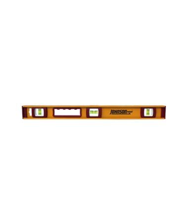 Johnson Level Heavy Duty I-Beam Aluminum Level JOH1233-2400-