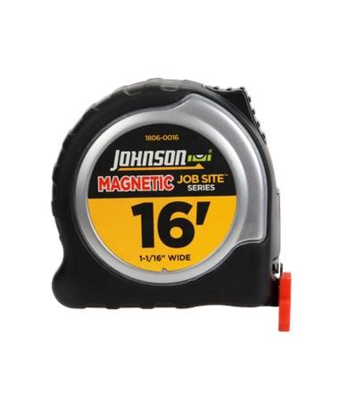 Johnson Level Job Site Magnetic Power Tape JOH1806-0016-