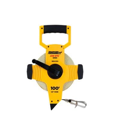 Johnson Level Job Site Open Reel Fiberglass Tape JOH1808-0100-