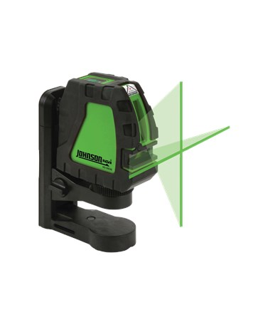 Johnson Level Green Beam Cross Line Laser JOH-40-6656