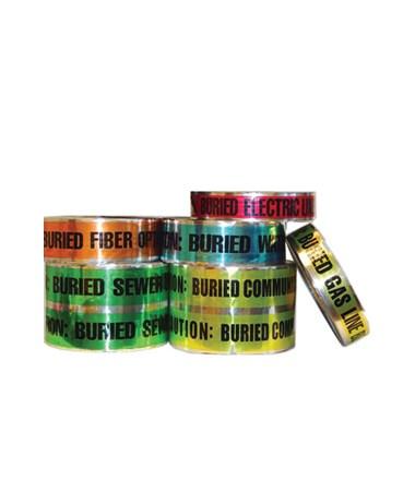 Keson Foil Underground Detectable Tape KESFDT2BEL-